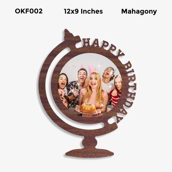 Happy BIrthday OKF002 Mahagony