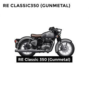 Buy RE Classic Gunmetal 350 CC
