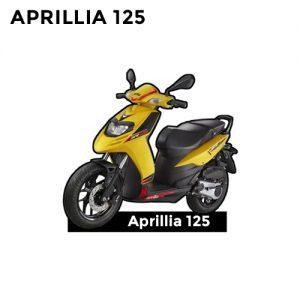 Buy Aprillia 125 CC Keychain