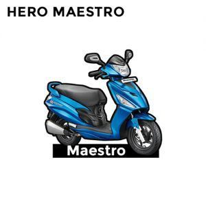 Buy Hero Maestro 125 CC Keychain