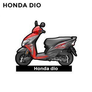 Buy Honda Dio 110 CC Keychain