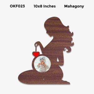 Best Personalized Pregnancy Photo Frame OKF23