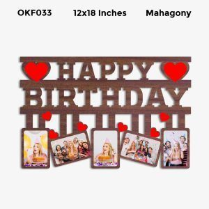 Best Personalized Happy Birthday Photo Frame OKF033