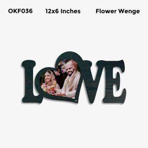 Best Personalized Love Photo Frame OKF036