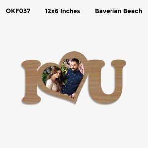 Best Personalized I Love You Photo Frame OKF037