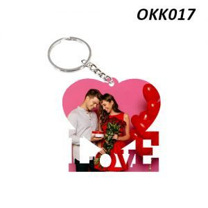 Wooden Keychain Love OKK17