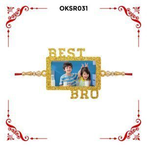 Best Personalized Best Bro Photo Rakhi OKSR31