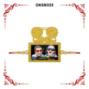 Best Personalized Dabangg Bhai Photo Rakhi OKSR33