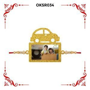 Best Personalized Car Bhai Photo Rakhi OKSR34