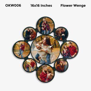 Designer Personalized Clock OKW006
