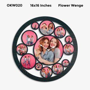 Buy Best 12 Photo Designer Personalized Clock OKW020