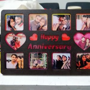 Buy Best LED Personalized Happy Anniversary Photo Frames OKLED01