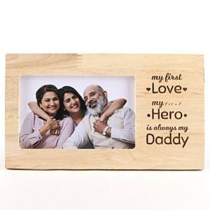 Buy Best My Daddy My Hero Personalized Photo Frame OKE01