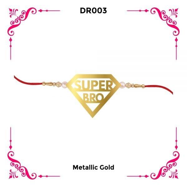Super Bro Designer Rakhi DR03
